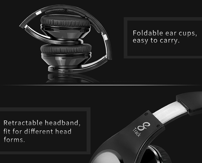 Bluedio R Bluetooth Headphones Noise Canceling with Mic Hands-free Calls Volume Control TF Card Slot