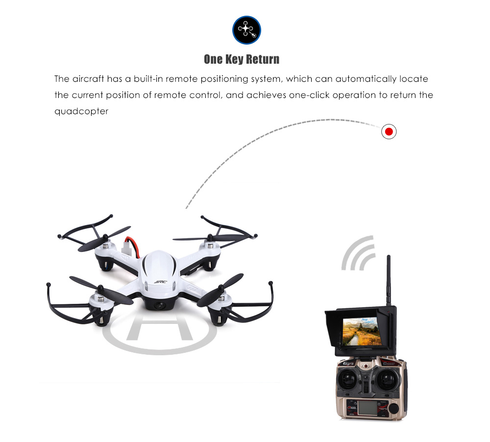 JJRC H32GH 5.8G FPV HD Camera 2.4GHz 4CH 6 Axis Gyro RC Quadcopter Real-time Transmission RTF