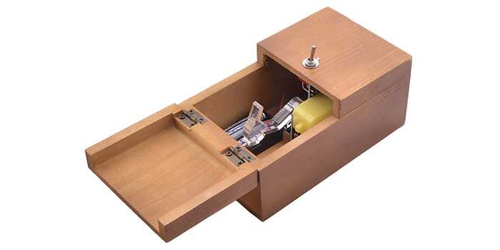 Focalprice FCU003 Wooden Box Electronic Machine Fully Assembled
