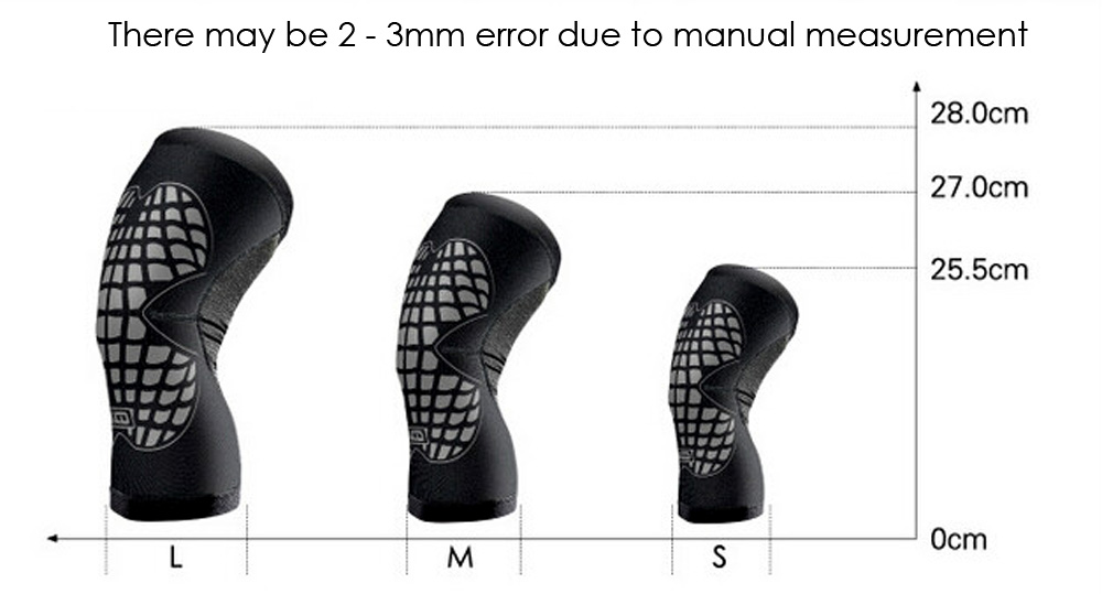 MLD LF1125 Breathable Lightweight Sports Knee Pad