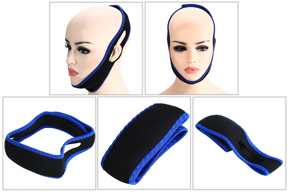 ZE6740 Anti Snore Chin Strap Stop Snoring Belt