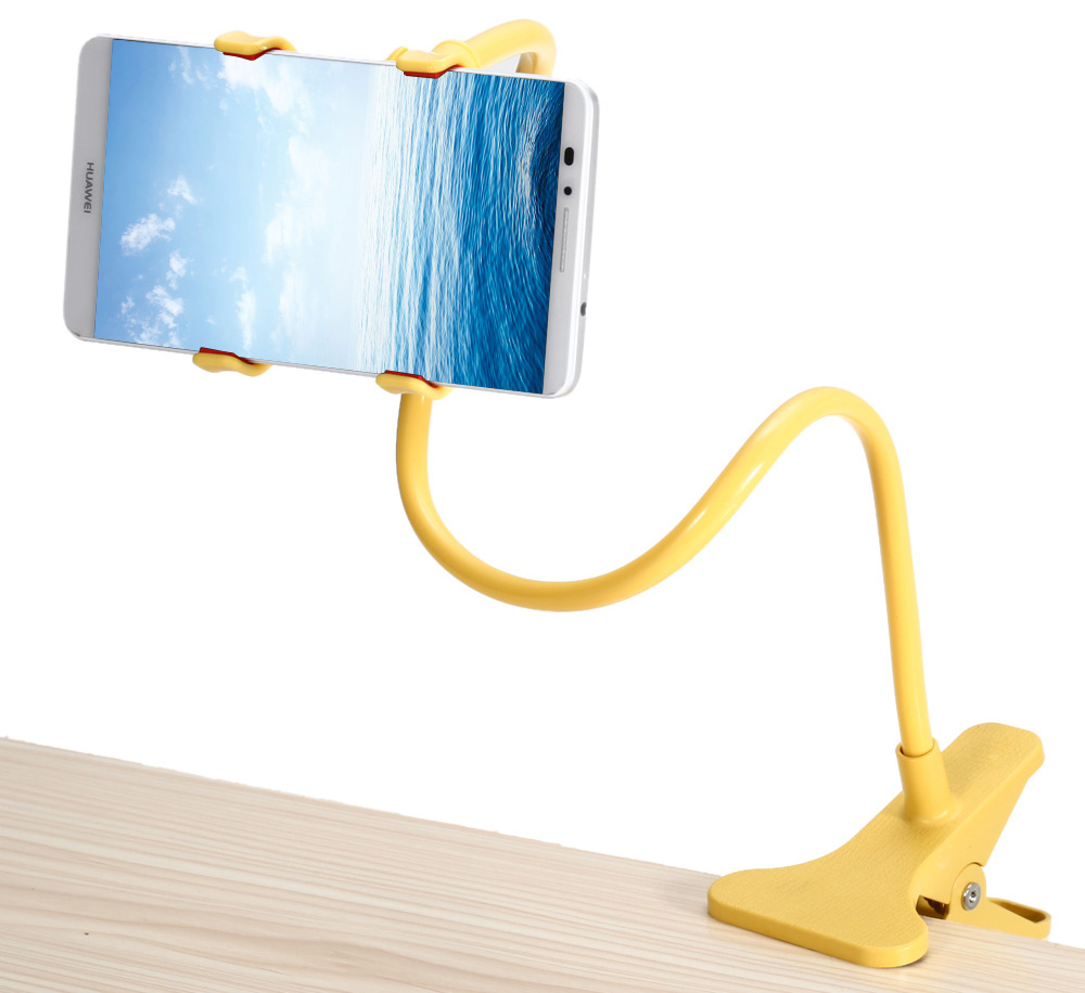 Flexible Mobile Phone Bracket Adjustable Stand Rotatable Clip Holder
