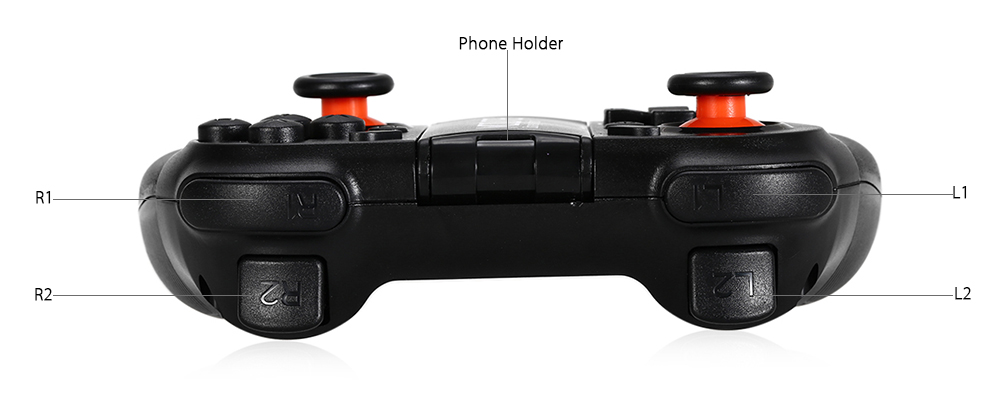 MOCUTE - 050 Bluetooth 3.0 Wireless Gamepad Game Controller for Android / Windows / Smartphone / TV Box / Tablet PC