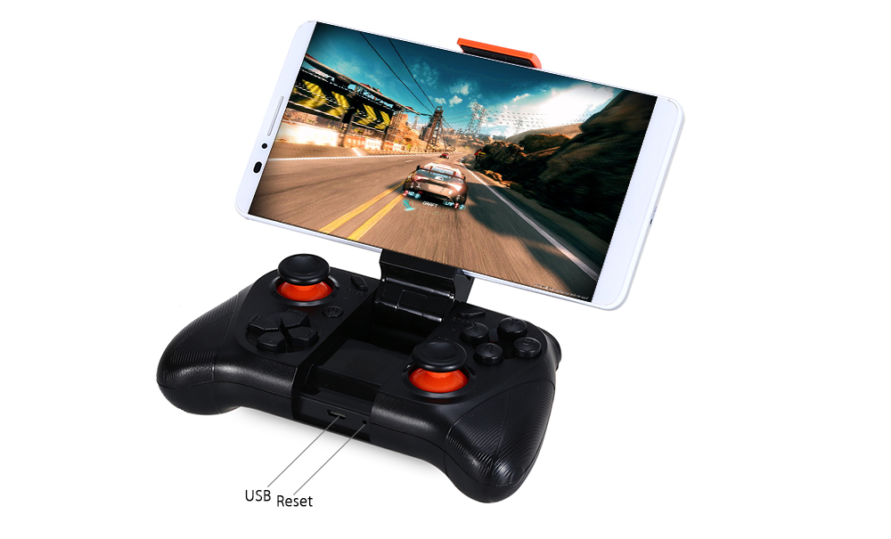 MOCUTE - 050 Bluetooth 3.0 Wireless Gamepad Game Controller for Android Smartphone / TV Box