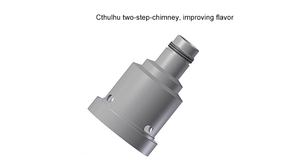 Original Cthulhu V3 RTA 5ml E Cigarette Rebuildable Tank Atomizer with Dual / Single Coil Deck / Top Filling System