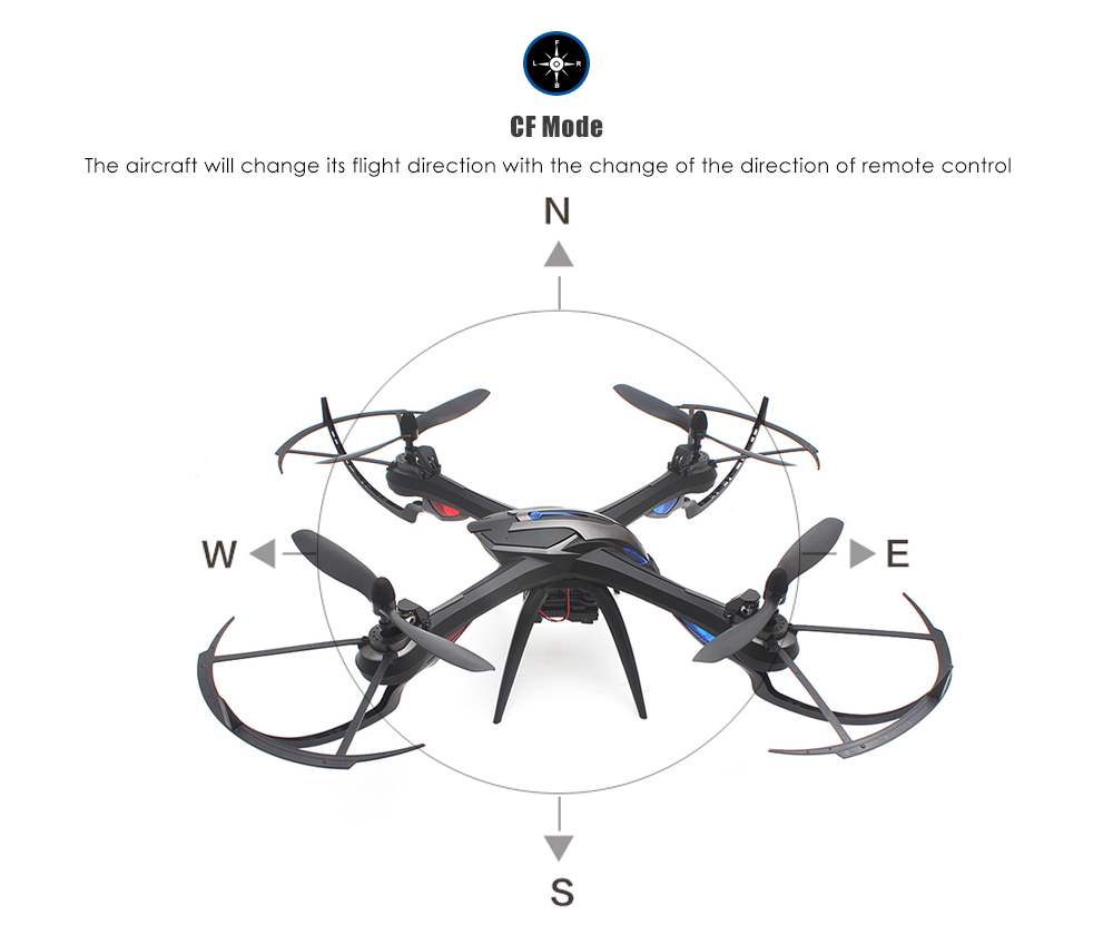 i Drone i8H 2.4GHz 4CH 6 Axis Gyro RC Quadcopter with HD Camera Air Press Altitude Hold WiFi Real Time Transmission