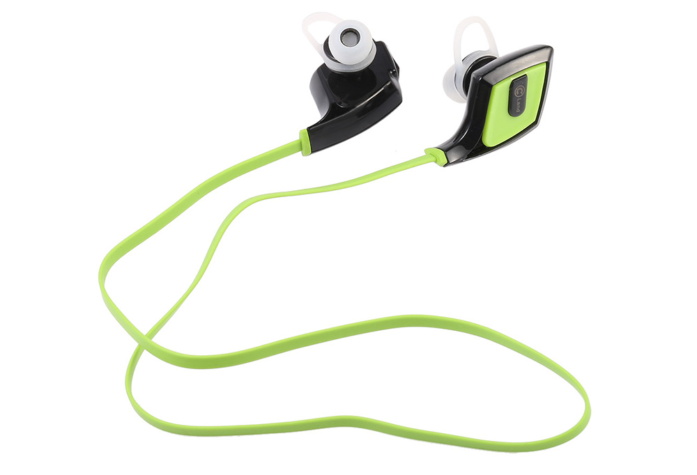O2 Wireless Bluetooth Sport Earbuds with Mic CVC 6.0 Noise Cancelling