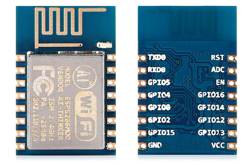 ESP8266 ESP - 12 WiFi Serial Module Wireless Signal Transfer Receiving for Arduino DIY Projects