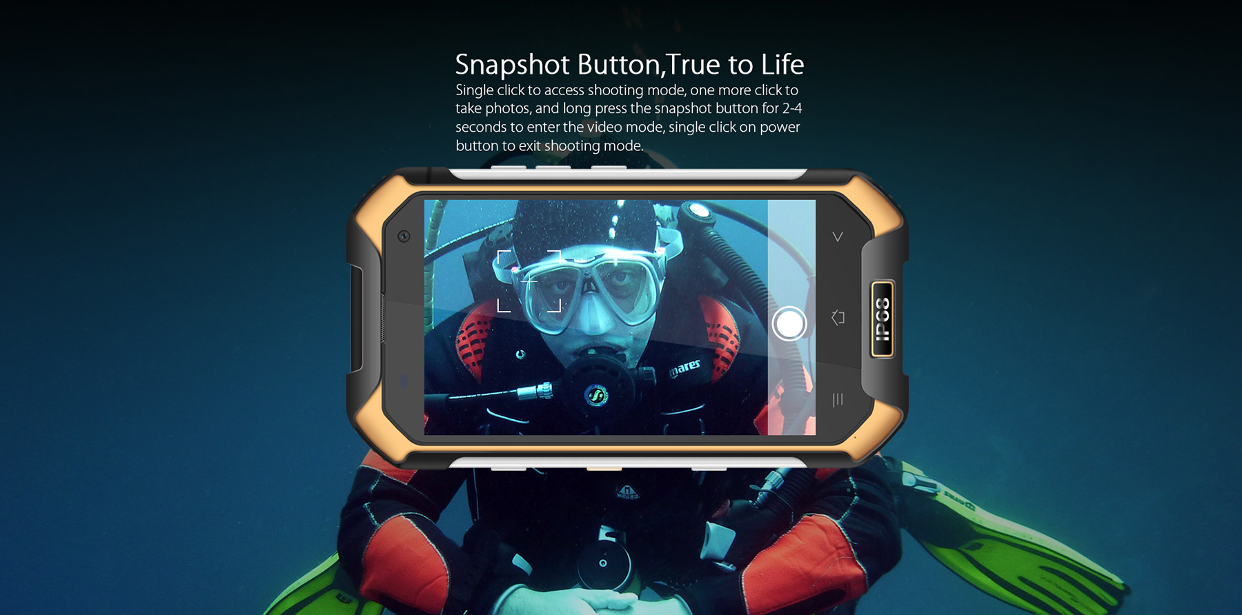 Blackview BV6000S Android 6.0 4.7 inch 4G Smartphone MTK6735 1.3GHz Quad Core 2GB RAM 16GB ROM Waterproof Shockproof NFC GPS