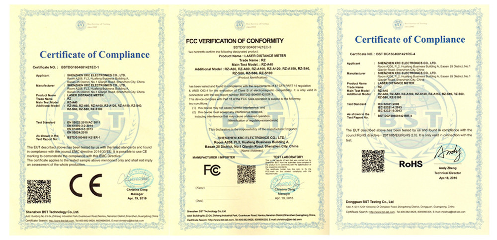 2016-05-11 CE Certificate Laser distance meter RZ-A and RZ-S se.jpg
