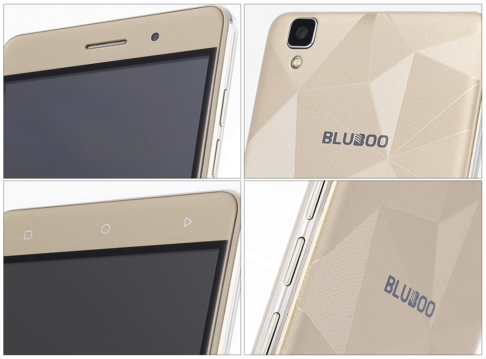 Bluboo Maya Android 6.0 5.5 inch HD Screen 3G Phablet MTK6580 Quad Core 1.3GHz 2GB RAM 16GB ROM Gravity Sensor