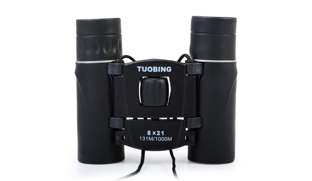 8 x 21 Porro BAK - 4 Prism Folding Binocular 131m / 1000m Field of View