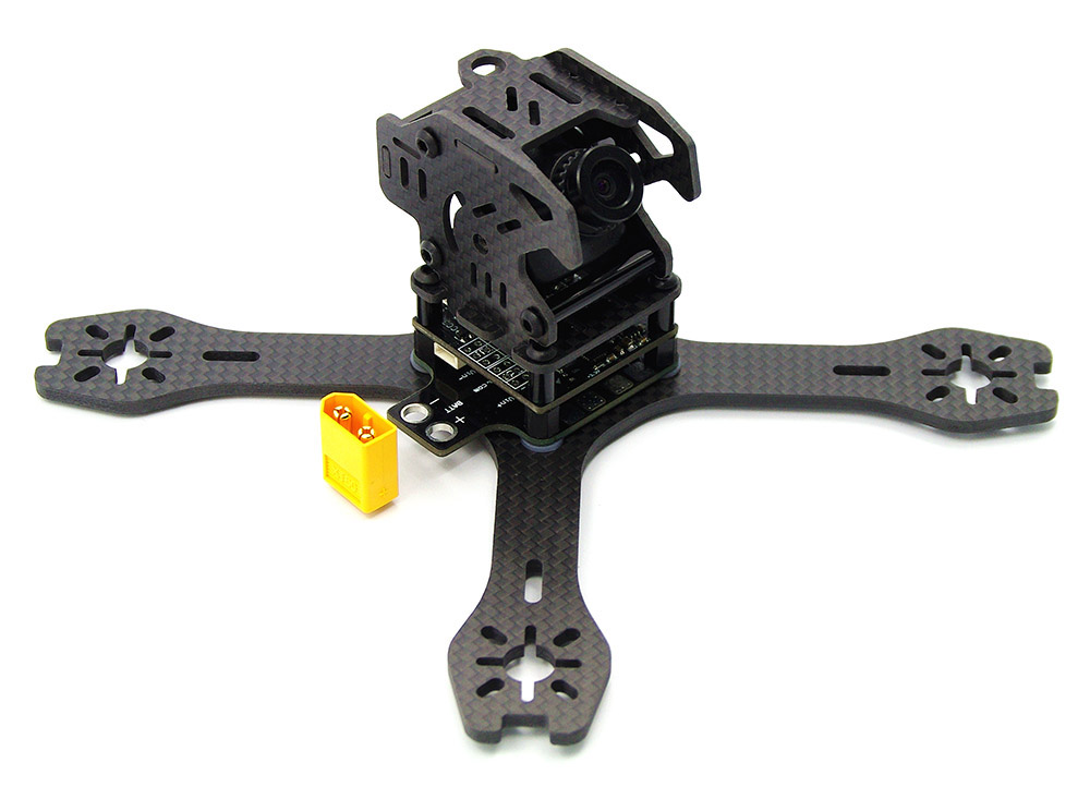 GB155 155mm 3mm Arm Carbon Fiber Frame Kit Quadcopter Spare Parts with PDB Board