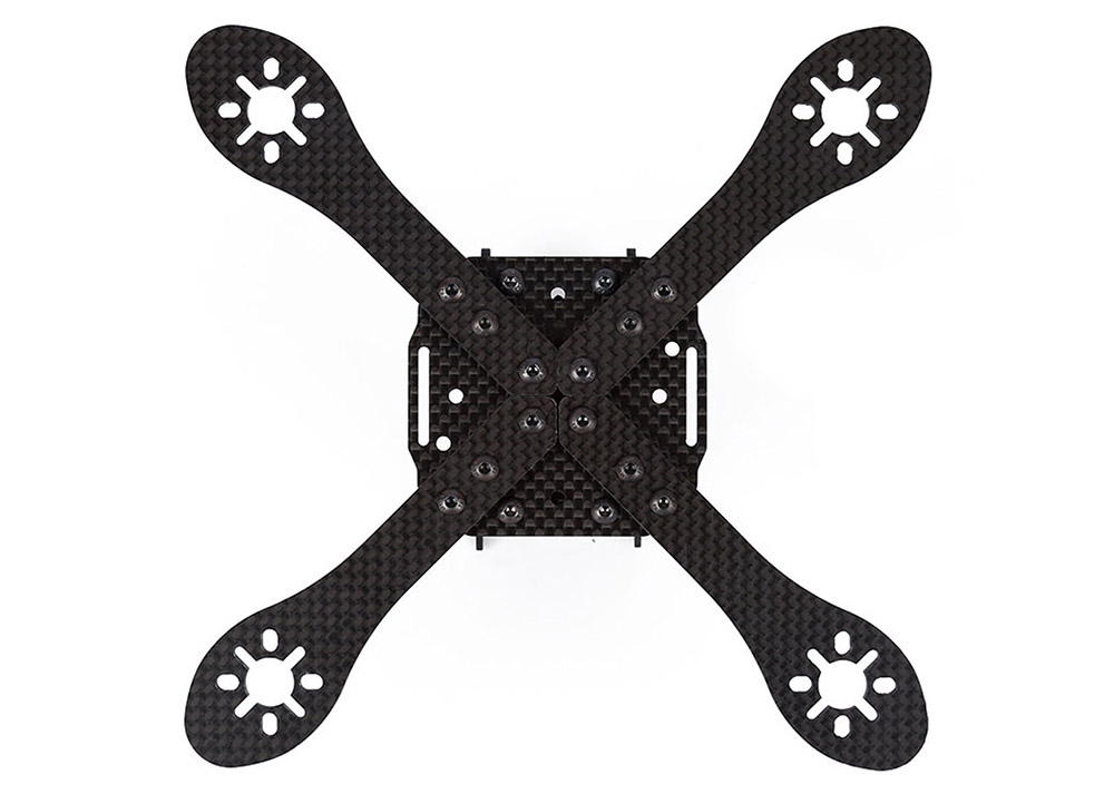 GEPRC GB170 170mm 4mm Arm Carbon Fiber Frame Kit Quadcopter Spare Parts with PDB Board