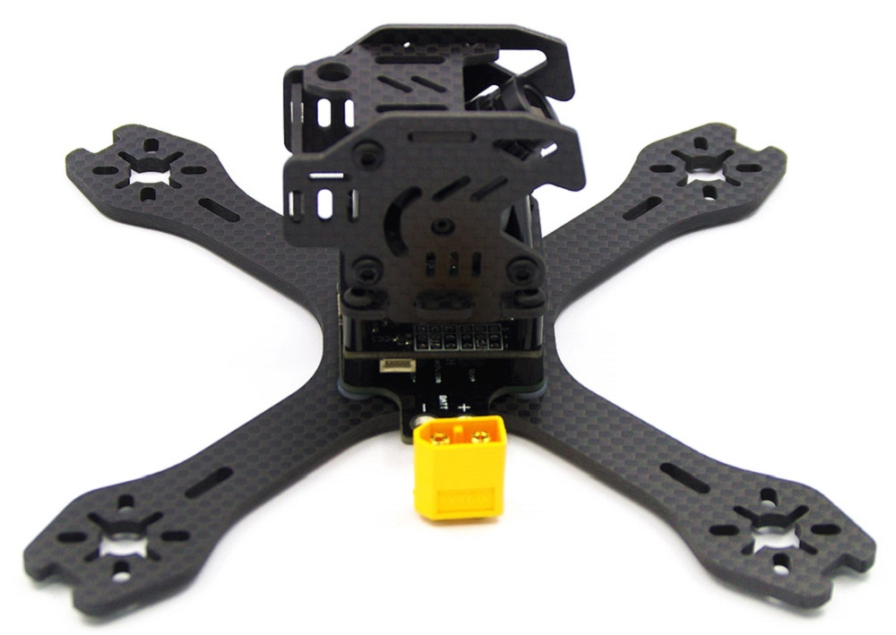 GB130 130mm 3mm Arm Carbon Fiber Frame Kit Quadcopter Spare Parts with PDB Board