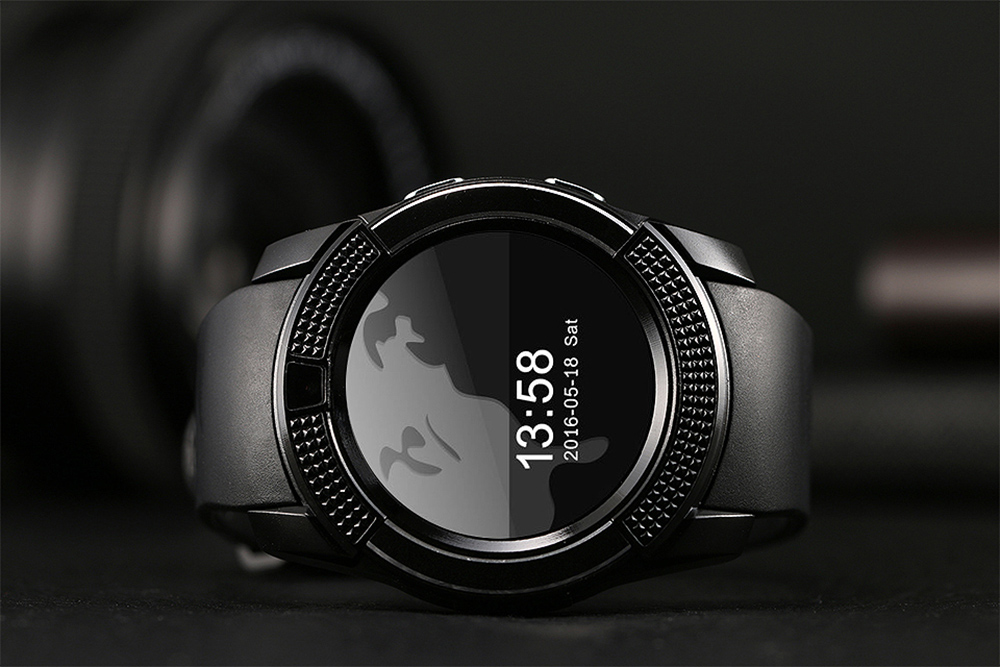 TenFifteen A10 1.22 inch Round Screen Smartwatch Phone MTK6261 Sleep Monitoring Anti-lost Pedometer Remote Camera