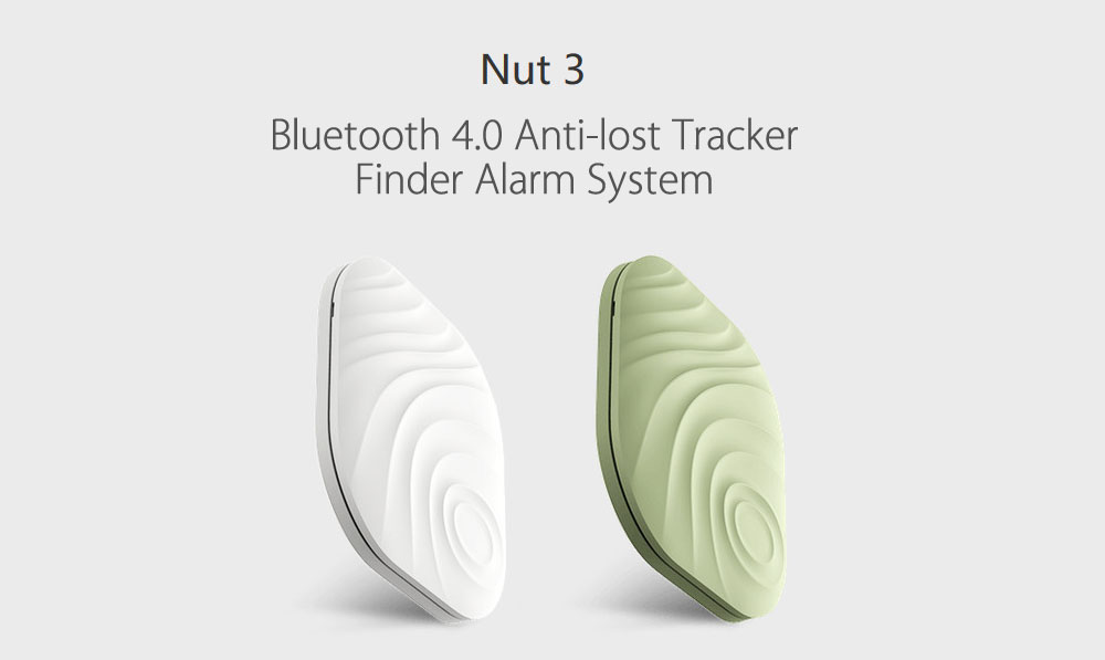 Nut 3 Wireless Bluetooth 4.0 Anti-lost Tracker Remainder Mini Size Portable for iOS Android System 2pcs