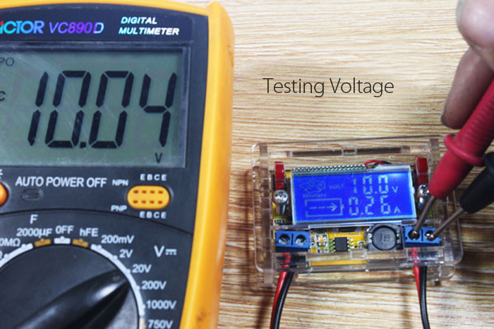 DC-DC Adjustable Step Down Voltage Power Supply Module LCD Display