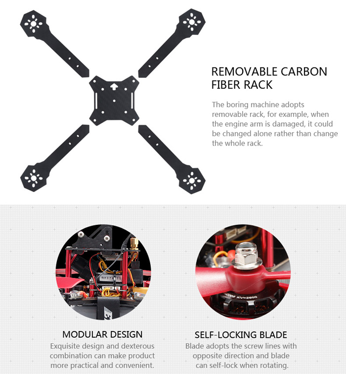 JJRC JJPRO - P175 5.8G FPV Jumper HD Camera 2.4G 6 Channel 800TVL Quadcopter RTF
