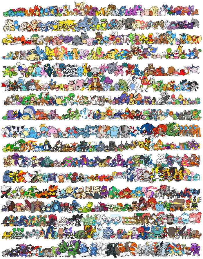 Mini Little Monster Figure Model Collection Table Decor 2 - 3cm Height for Game Fans 48pcs
