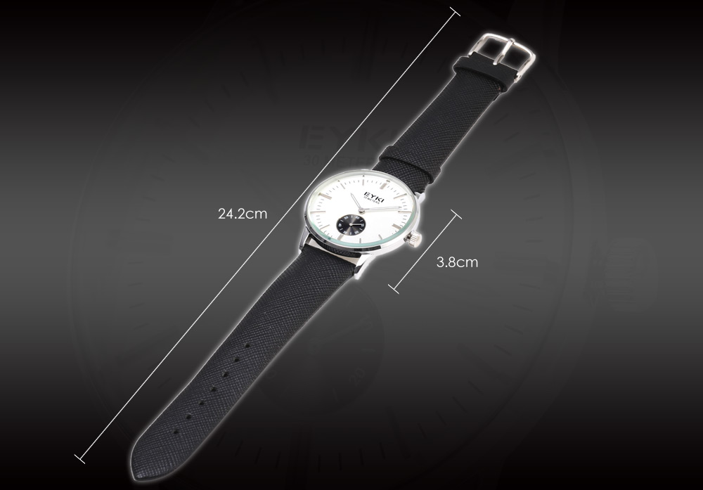 EYKI 1030 Casual Male Quartz Watch with Small Dial