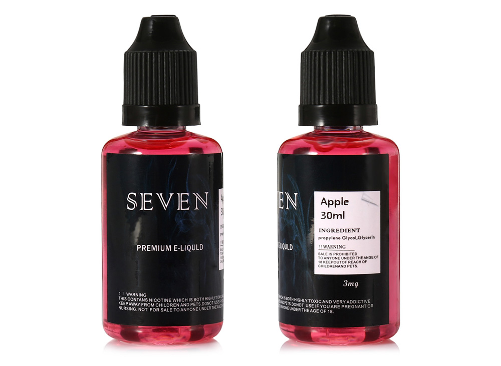 SEVEN Apple Flavor E-juice E-liquid for E Cigarette