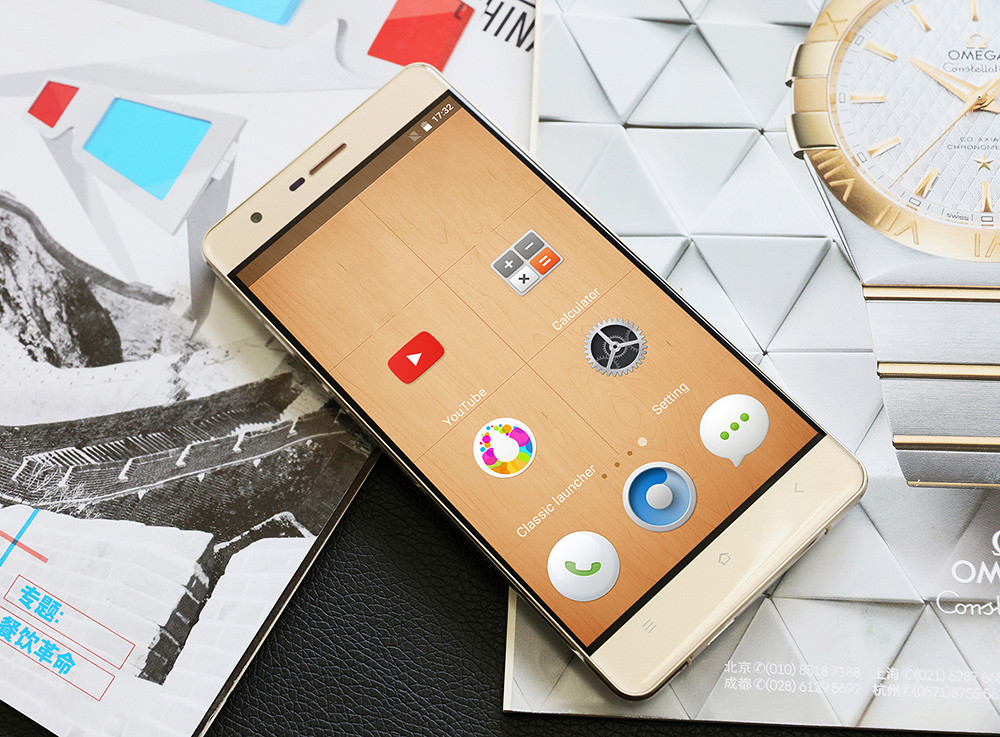 OUKITEL K4000 Lite Android 5.1 4G Smartphone 5.0 inch 2.5D Arc Screen MTK6735 64bit Quad Core 2GB RAM 16GB ROM 5MP + 13MP Cameras