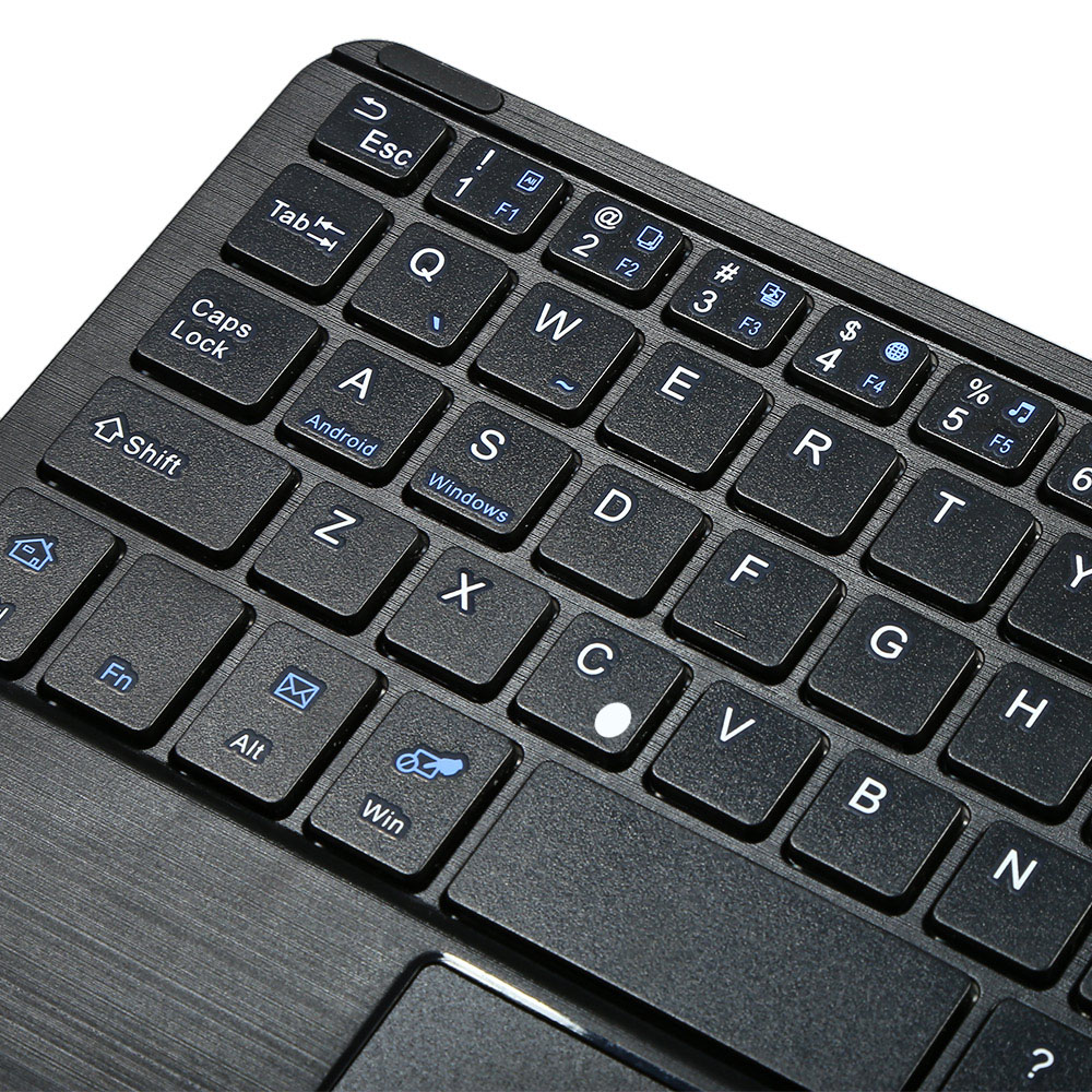 Multifunctional Ultra Thin Wireless Bluetooth 3.0 Keyboard with Touch Pad for Bluetooth Devices