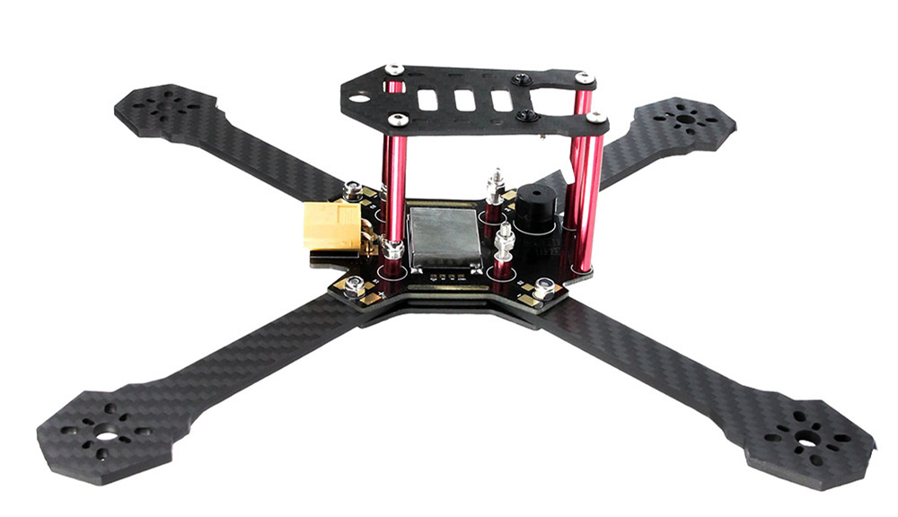 EMAX Nighthawk - X5 200mm Carbon Fiber X Frame Kit Quadcopter Spare Part with PDB