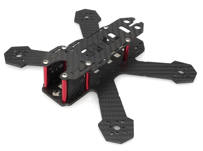 EMAX Nighthawk HX 170mm Carbon Fiber X Frame Kit Quadcopter Spare Part with PDB