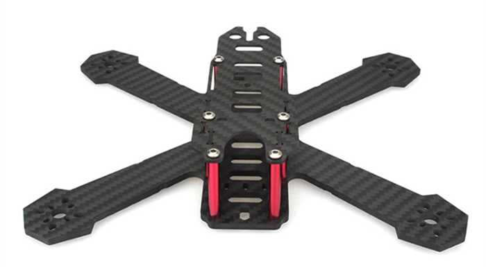 EMAX Nighthawk HX 200mm Carbon Fiber X Frame Kit Quadcopter Spare Part with PDB