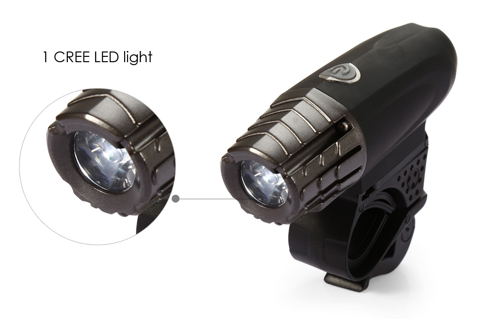 DECAKER 2256 200LM 3W LED 4 Modes Bicycle Front Light