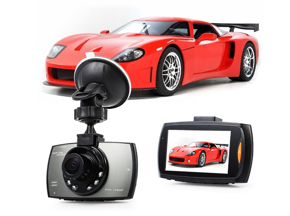 G30 1080P Full HD Car DVR Camera 170 Degree Wide Angle 2.4 inch Screen G-sensor Motion Detection Loop Cycle Recording Night Vision