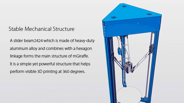 Makeblock mGiraffe High Accuracy 3D Printer DIY Kit