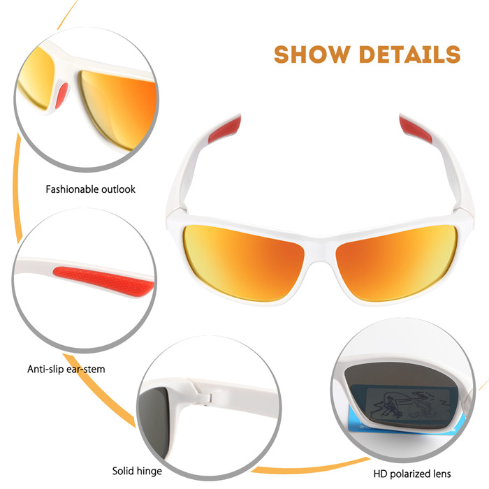 MOBIKE 2270 Polarizing Cycling Glasses Bicycle Goggles for Outdoor Sports