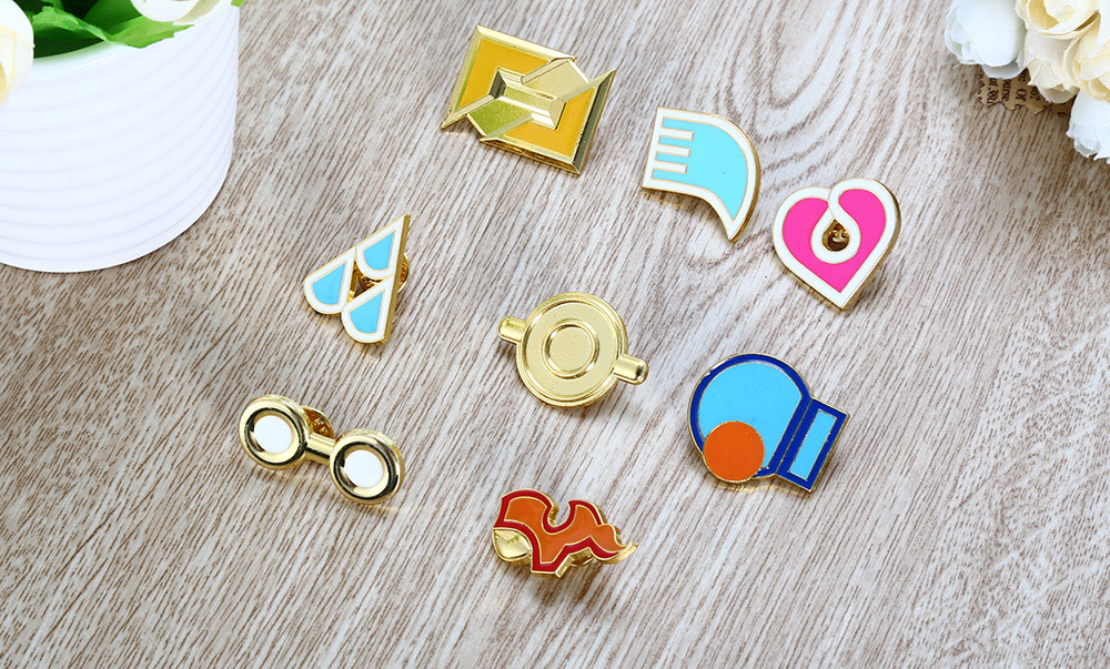 Alloy Badge Movie Product Children Gift Decor - 8pcs / set