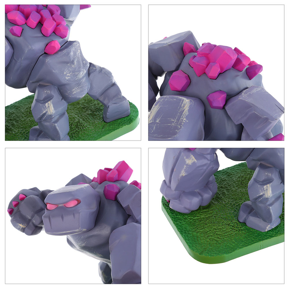 COC 11.5m High Golem Figure MMORPG Video Game Model Collection Table Decor Gift for Game Players Fan