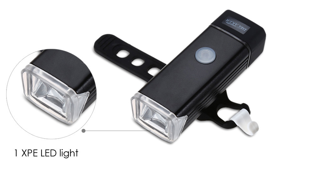 DECAKER 2259 270LM 5W LED 4 Modes Bicycle Front Light