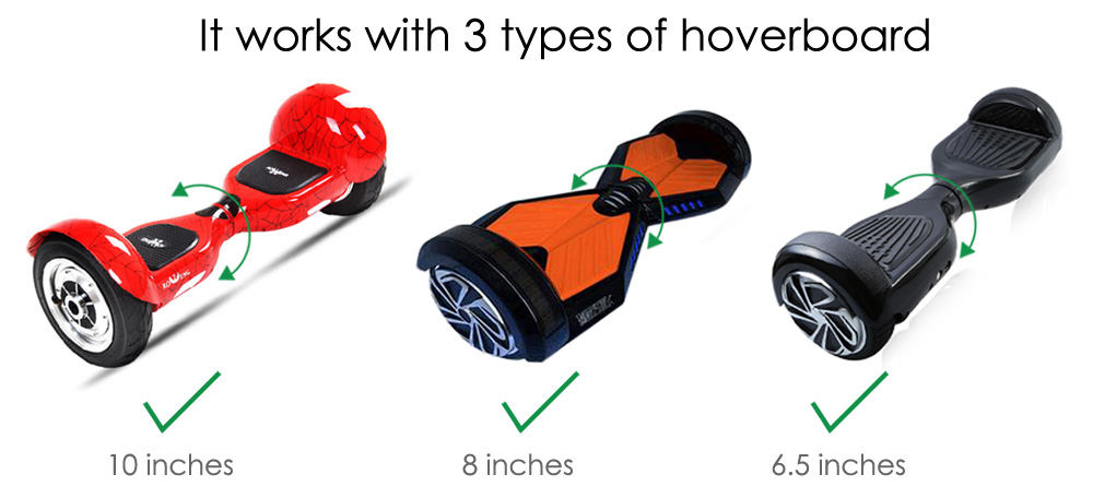 Hiwheel H - 1 Hover Kart Sitting Attachment for Hoverboard