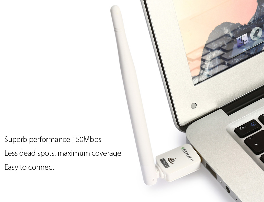 EDUP EP - MS8552S 150Mbps Wireless Networking Adapter USB WiFi