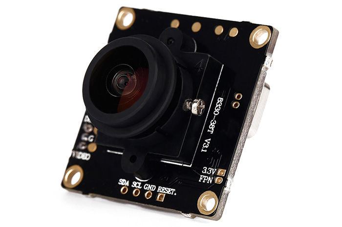 800TVL COMS Camera 168 Degree Wide Angle Module NTSC Format for Racing Drone