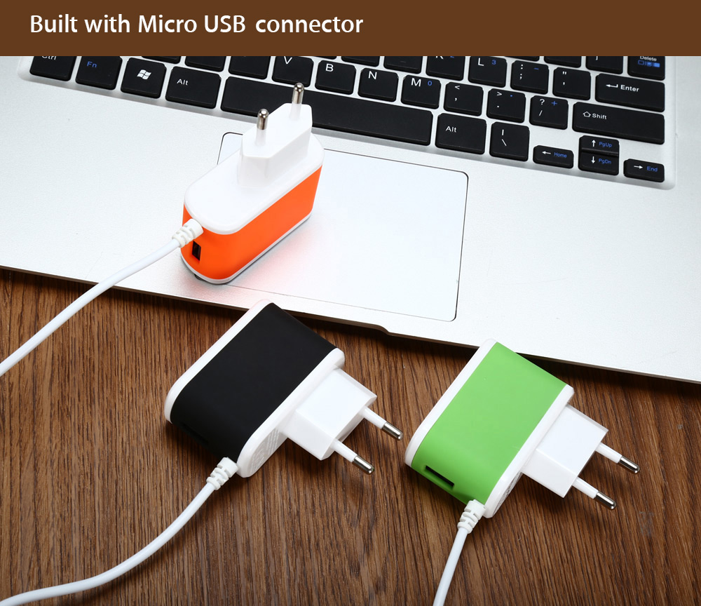 ES - D14 USB Quick Charge Power Charger Adapter with 8 Pin Connector
