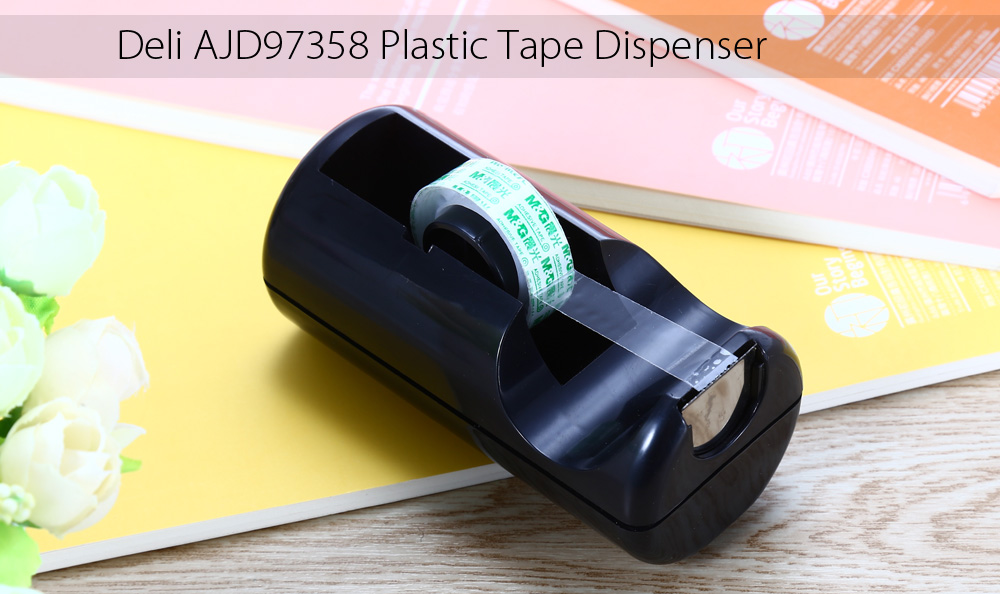 Deli AJD97358 Plastic Tape Dispenser Students Stationery