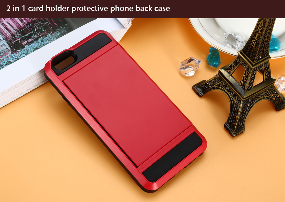 Creative Card Box Style Protective Phone Back Case for iPhone 6 Plus / 6S Plus