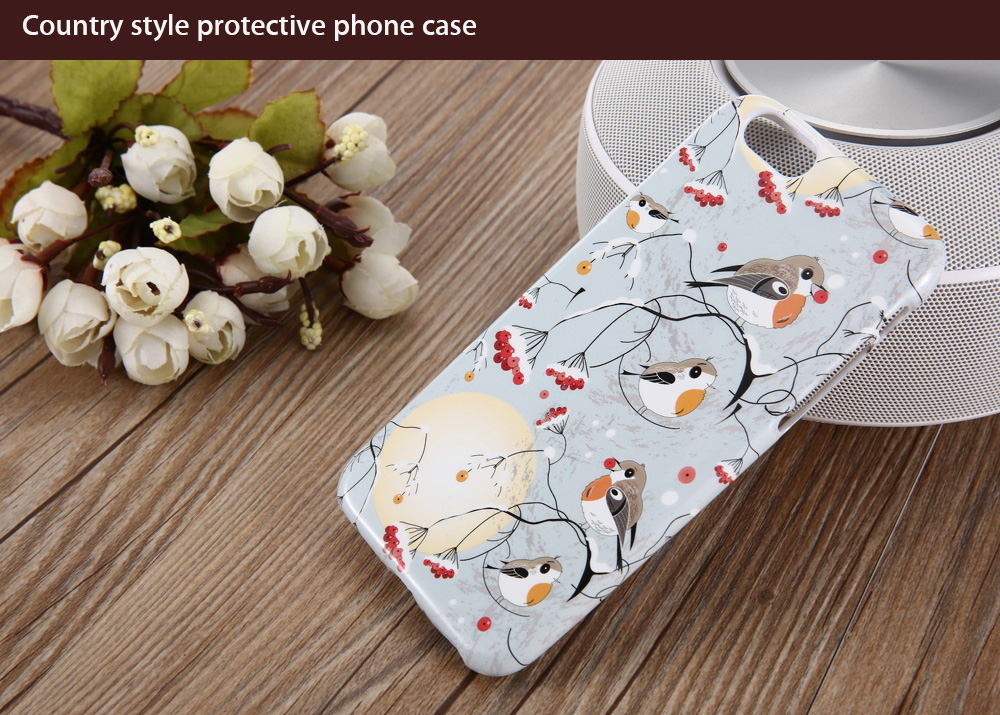 Protective Phone Back Case for iPhone 6 / 6S Ultra-thin TPU Soft Mobile Shell with Pattern