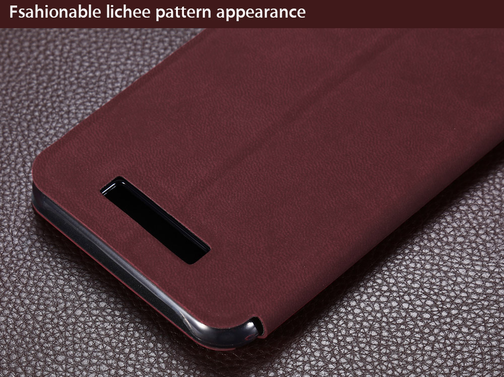 OCUBE PU Leather Full Body Phone Protective Case with Foldable Stand for Cubot Dinosaur