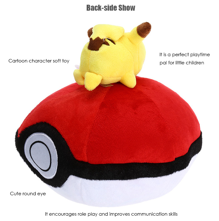 Anime Figure Style Plush Toy with Sling Stuffed Doll Decoration Gift