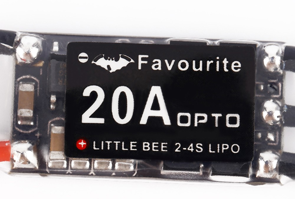 Favourite LittleBee 20A 2 - 4S Mini ESC Easy to Upgrade with Oneshot Damped Mode
