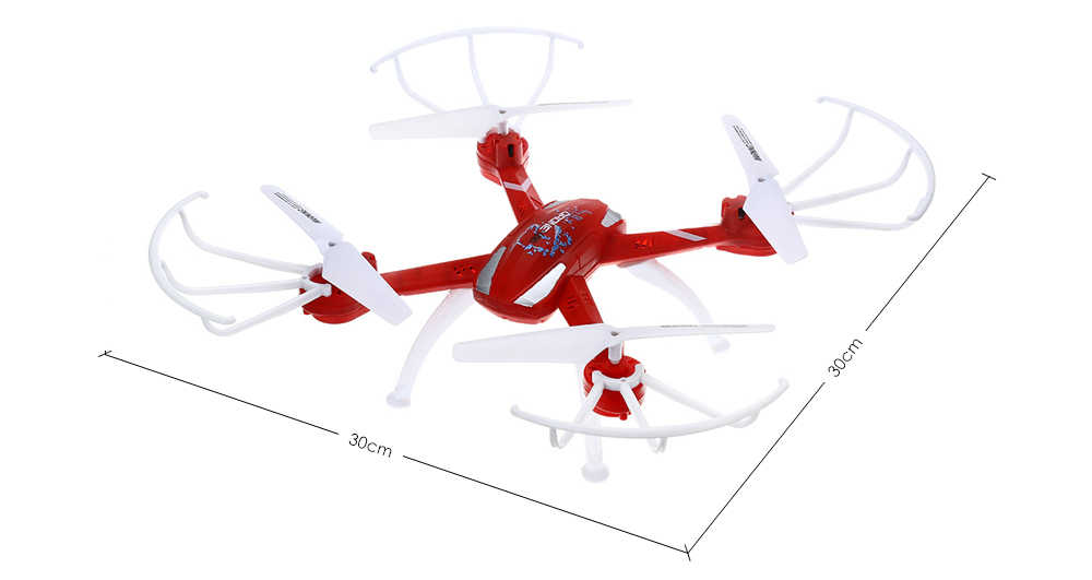 F2 2.4G 4CH 6 Axis Gyro Waterproof RC Quadcopter RTF High Speed Rotation Headless Mode 3D Flip
