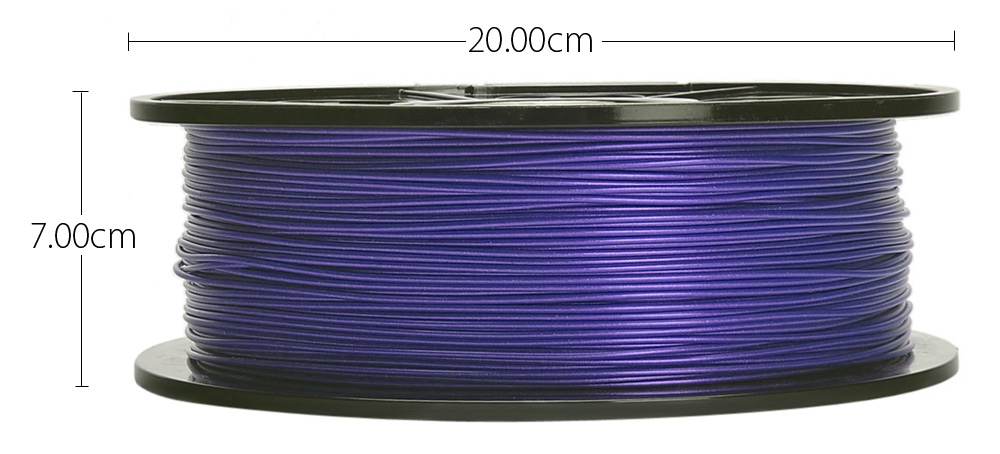 K - Camel 1.75mm ABS 3D Printing Filament Material 340m for DIY Project